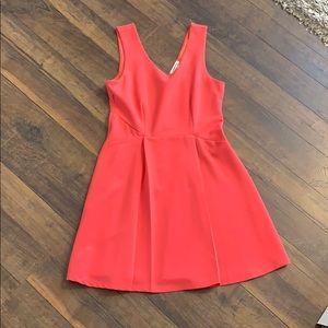 Pink mini summer dress